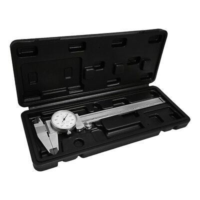 Stainless Steel Hardened 4 Way Dial Caliper 6 Inch Dial Caliper Shock Proof