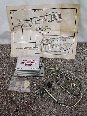 vintage 1977 bei breakerless electronic ignition kit ~ 1966 ford mustang?