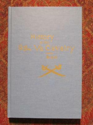 9th VIRGINIA CAVALRY - BY GEN BEALE, C.S.A. - ONLY 350 PRINTED - CIVIL WAR