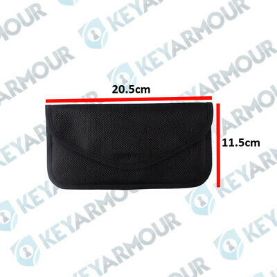 KEYARMOUR.CO.UK LARGE HEAVYDUTy Key Signal Blocker Faraday Fob Pouch Keyless
