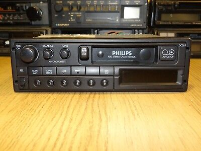 Philips 285 90s Vintage Cassette Car Stereo with Warranty & Bluetooth upgrade