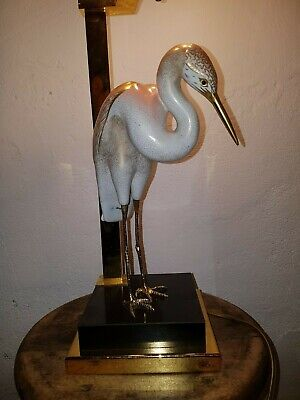 Tischlampe Mangani Skulptur Storch Stork Sculpture Lamp by Mangani for Oggetti 2