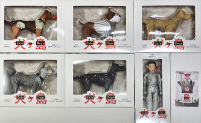 Isle of Dogs Exclusive Figure 6 pcs Complete Set Atari/REX/DUKE/BOSS/KING/CHIEF