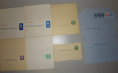 Lot of 30 Assorted Mint US Postal Stationery - Reply Cards, Post and Air Mail