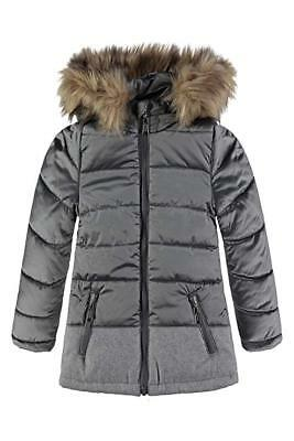 Bellybutton Kids Girl's Rain Grey Jacket Size 98 2-3 Years RRP 89.00