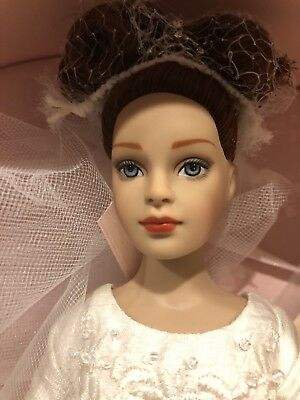 "Tonner Tiny Kitty Collier FOREVER YOURS 10"" Brunette Fashion Doll Bride Lingerie"