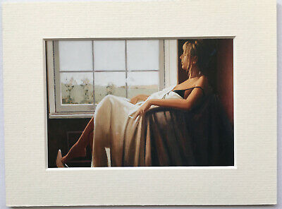 "Small Mounted Print 8/"" x 6/"" Jack Vettriano The Road To Nowhere Rare"