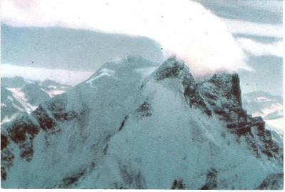 Nanga Parbat, Pakistan - mountain - postcard c.1970s