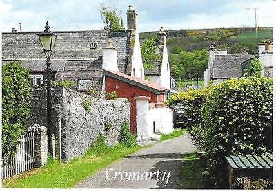 Cromarty, Highland - The Fishertown - postcard by local Post Office