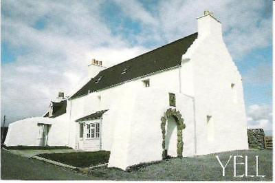 Burravoe, Yell, Shetland - 'The Old Haa' - local postcard