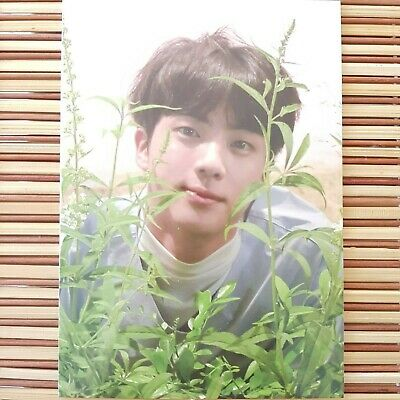 Jin BTS Love Yourself Her O Version Taiwan Official Photocard Photo Postcard