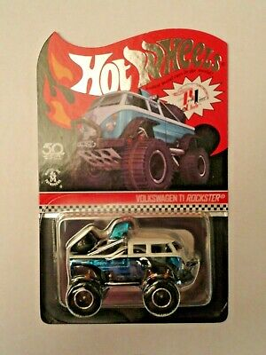 Hot Wheels 2018 Rlc Exclusive Volkswagen T1 Rockster Real Riders Off Road Vw New