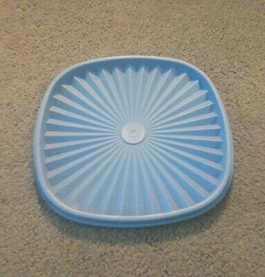 Tupperware Blue 859 4 Square Servalier Replacement Lid Seal