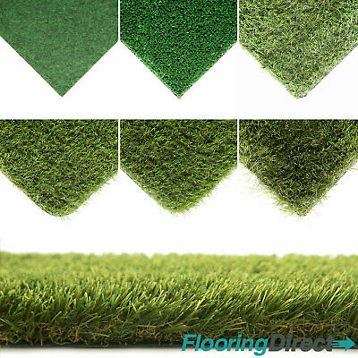 CLEARANCE Artificial Grass Astro Turf Realistic Natural Green Garden Fake Lawn
