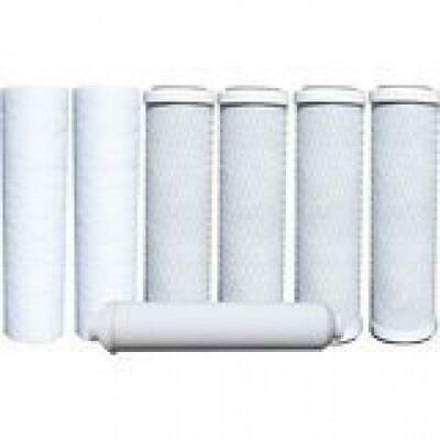 Watts 7PK RO Filters Premier 1Year 5Stage Reverse Filter Osmosis Replacement