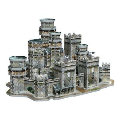 Game of Thrones WINTERFELL CASTLE Puzzle by WREBBIT 3D PUZZ3D 910 Pieces NEW