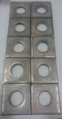 "3/4"" Square Strut Washer Stainless (10pcs)"