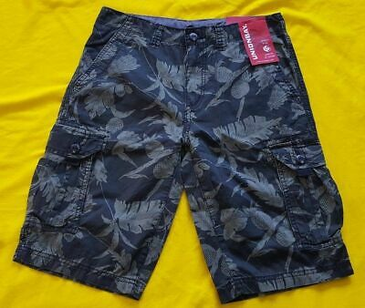 a1c1e1030 Unionbay Boys' Cargo Shorts Pineapple Black Color Army Green Size 8, 14, ...