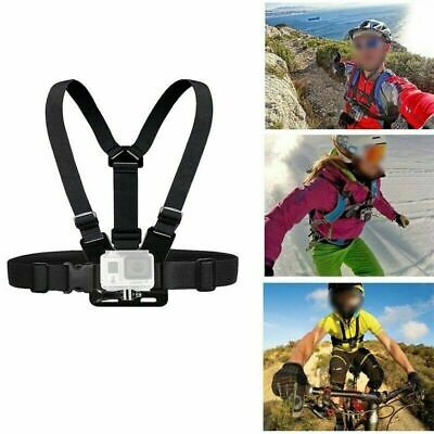 Elastic Chest Strap Harness Mount For GoPro HD Hero 1 2 3 4 5 6 7  Grateful
