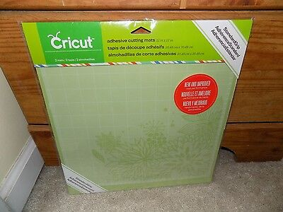 Cricut Tools Accessories Standard Grip Adhesive Cutting Mat 12 By 12 NEW