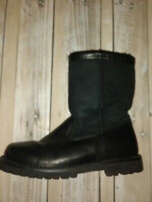 76c91f6022d UGG AUSTRALIA MENS Boots Insulated Winter Leather And Sheepskin Mens Size 9