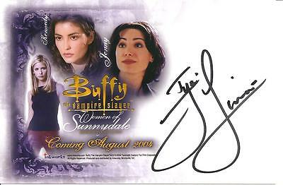 Buffy the Vampire Slayer Iyari Limon (Kennedy) Signed Color Photo