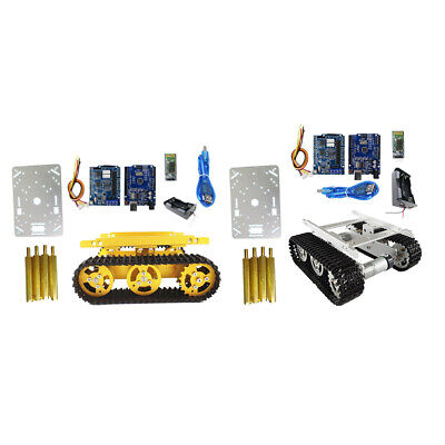 Bluetooth Driver Kit Robot Tank Car Chassis Racked Tank Chassis 9V motor