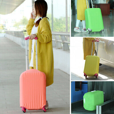 NEW Elastic Luggage Suitcase Dust Cover Protector Anti Scratch Antiscratch S M L