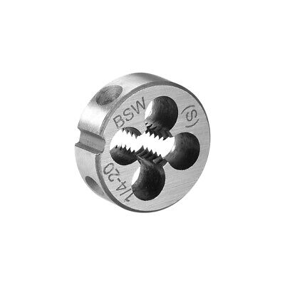 20mm Outside Dia 7mm Thickness 1/4 BSW  Round Thread Die Hand Tool 1Pcs