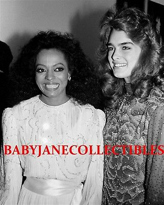 DIANA ROSS PAPARAZZI CANDID photo with BROOKE SHIELDS (105)