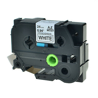 TZ-S251 TZe-S251 Black on White Label For Brother P-Touch 24mm Stong adhesive