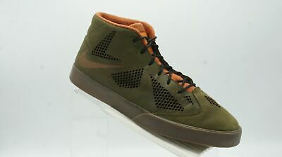 be0ca4dfe570 Nike Lebron X 604826 300 Sz 12 M Green Leather Lifestyle Basketball Mens  Shoes