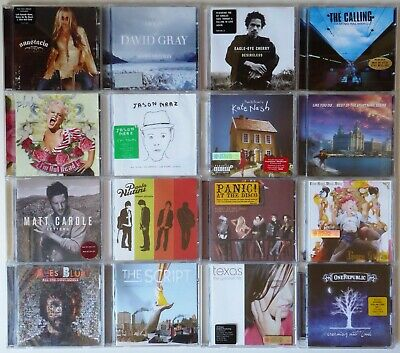 16 Pop Rock Albums (bundle, collection, Panic at the disco...) All Gd condn