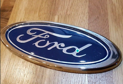 Ford Badge Transit connect mondeo fiesta 115mm x 45mm blue