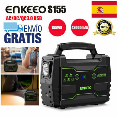 Enkeeo S155 Portable Power Station Power Source 155WH Electric Generator Outdoor