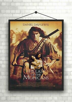 The Last of the Mohicans Classic Large Movie Poster Art Print Maxi A1 A2 A3 A4