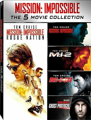 2 cofanettI+6 dvd nuovi Mission:Impossible 1+2+3+Rouge+Gosth+FALLOUT vers Italy