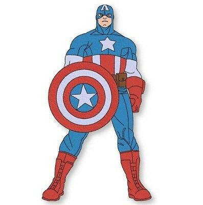 Machine Embroidery Captain America design Embroidery pattern Marvel Super Heroes