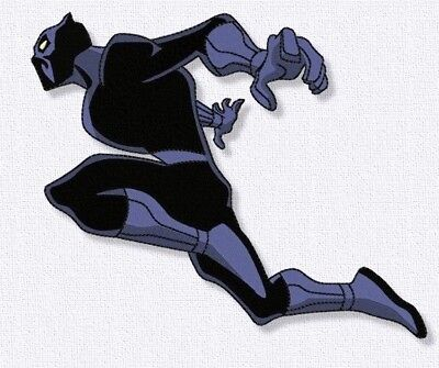 Black Panther Embroidery design. Digital embroidery Super Heroes Marvel comics