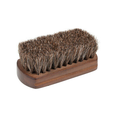 Horsehair Shoe Shine Brush Horsehair Brush, Shoes Brush for Shoes, Leather