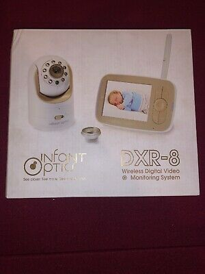 Infant Optics DXR-8 Video Baby Monitor with standard and wide angle lense