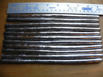 1.8 kg of Lead Sticks Bars For Soldering Lead loading Stain Glass Repair