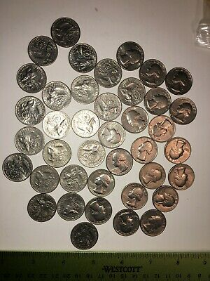 Roll of Bicentennial p and d Quarters