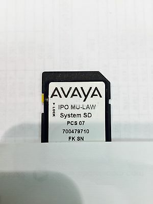 Avaya Sd Card Contact Store Recording #187166
