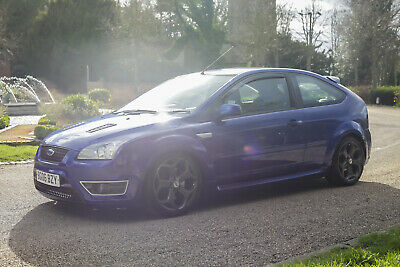 NOW SOLD 2006 Ford Focus ST 300BHP+ STAGE 3 Tuned Performance blue