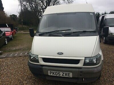 Ford Transit 2005... £650... 260 Swb High Top No Mot 137,000 Miles With History