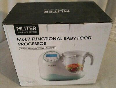 MLITER  All in One Multi Functional Baby Food Processor; ML-BF001; 700W Max