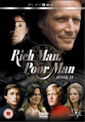 Peter Strauss, Gregg Henry-Rich Man, Poor Man: Book Two, Chapters 1-21 ( DVD NEW