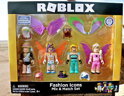 ROBLOX 11 PIECE Fashion Icons Mix Match Set with virtual item Code