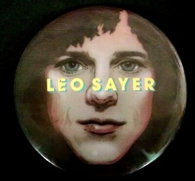Leo Sayer Original Very Rare 1976-1977 When I Need You Huge Vintage Button Badge